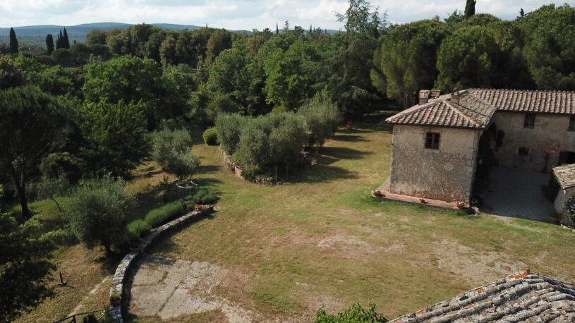 Borgo dei Fondi, aerial view