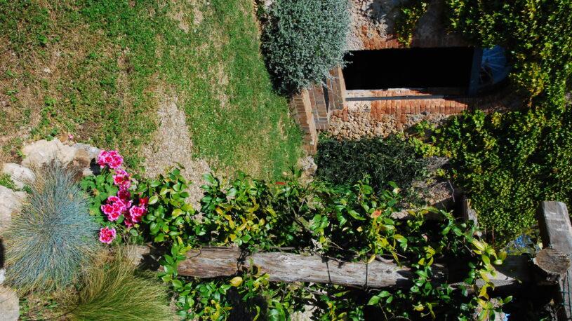 gazebo and inerior garden